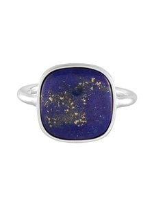 Pernille Corydon - Lapis Lazuli -sormus - SILVER | Stockmann