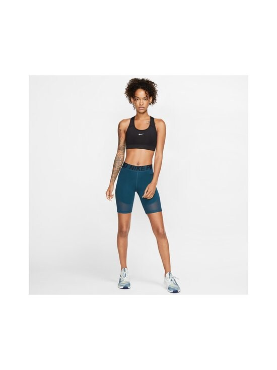 Nike - Swoosh Medium Support -urheiluliivit - BLACK/WHITE   Stockmann - photo 8