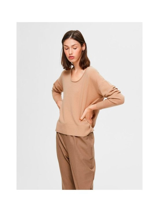 Selected - SlfKia-kashmirneule - CAMEL | Stockmann - photo 2