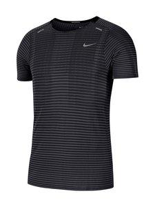 Nike - TechKnit Ultra -treenipaita - BLACK/DK SMOKE GREY/REFLECTIVE SILV | Stockmann