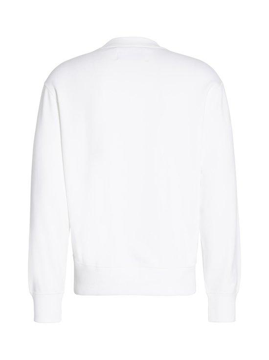 Calvin Klein Jeans - Embossed Fashion Crew Neck -collegepaita - YAF BRIGHT WHITE   Stockmann - photo 2