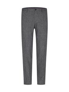 Tommy Hilfiger Tailored - TH Flex Flecked Slim Fit -housut - 0GU BLACK/ECRU MELANGE | Stockmann