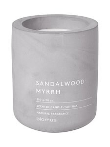 Blomus - Fraga Sandalwood Myrrh -tuoksukynttilä - GREY LIGHT   Stockmann