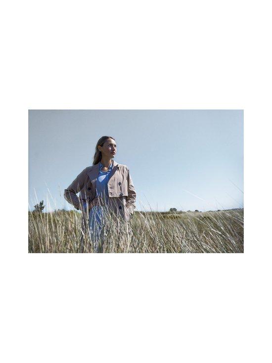 BRUUNS BAZAAR - Lillie Corinne -silkkipusero - BLUE MIST   Stockmann - photo 4