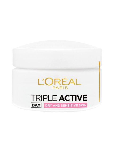 Triple Active -päivävoide kuivalle ja herkälle iholle 50 ml