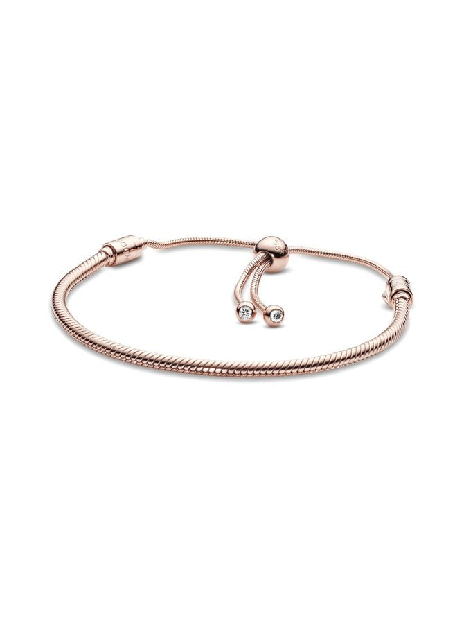 Snake Chain Rose -rannekoru