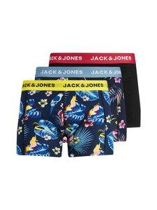 Jack & Jones - JACFLOWER BIRD -bokserialushousut 3 kpl - SURF THE WEB DETAIL:BLACK - BLACK | Stockmann