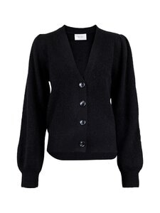 Neo Noir - Gimma Knit Cardigan -villasekoiteneuletakki - 100 BLACK | Stockmann