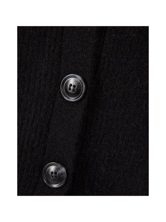 Neo Noir - Gimma Knit Cardigan -villasekoiteneuletakki - 100 BLACK | Stockmann - photo 3