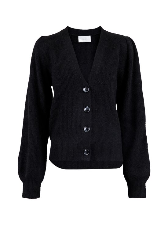 Neo Noir - Gimma Knit Cardigan -villasekoiteneuletakki - 100 BLACK | Stockmann - photo 1