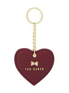 Ted Baker London - Lilloh Crystal Bow Detail Heart Key Charm -avaimenperä - 40 DK-RED | Stockmann