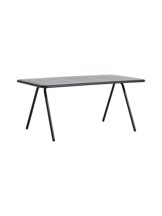 WOUD - RAY Dining Table -pöytä 160 x 85 cm - CHARCOAL BLACK | Stockmann - photo 1