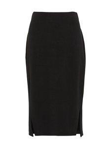 Selected - SlfTenny HW Midi Skirt -hame - BLACK | Stockmann