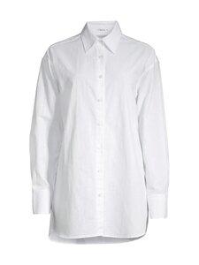 Filippa K - Mandy Cotton Shirt -puuvillapaita - 8998 WHITE CHALK   Stockmann