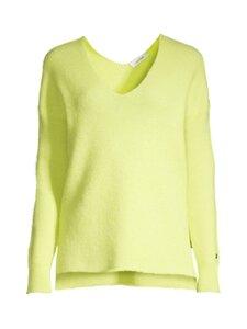 Calvin Klein Womenswear - ALPACA RIB V-NECK -neule - LLD SUNNY LIME | Stockmann