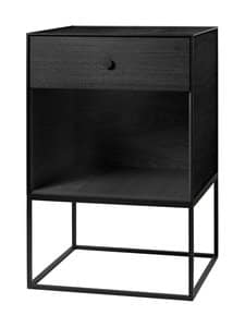 By Lassen - Frame Sideboard 49 -sivupöytä - DARK GREY | Stockmann