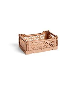 HAY - Colour Crate S -laatikko 26,5 x 17 x 10,5 cm - NOUGAT   Stockmann