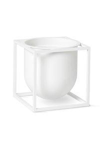 By Lassen - Kubus Flowerpot 14 -ruukku - WHITE | Stockmann