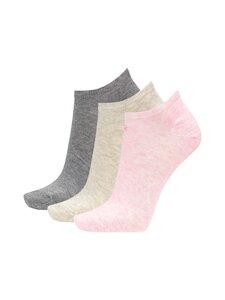 Calvin Klein Underwear - Sukat 3-pack - 004 FADED PINK/PALE GREY/GREY | Stockmann