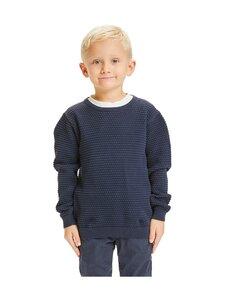Knowledge Cotton Apparel - Fennel Bobble Knit -neule - 1001 TOTAL ECLIPSE | Stockmann