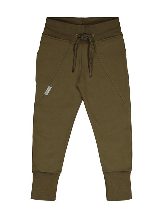 Gugguu - Slim Baggy -collegehousut - OLIVE GREEN | Stockmann - photo 1