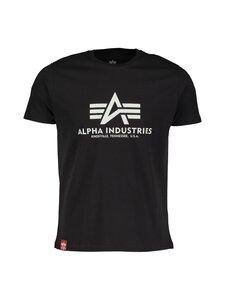 Alpha Industries - Basic T Kryptonite -paita - 03 BLACK | Stockmann