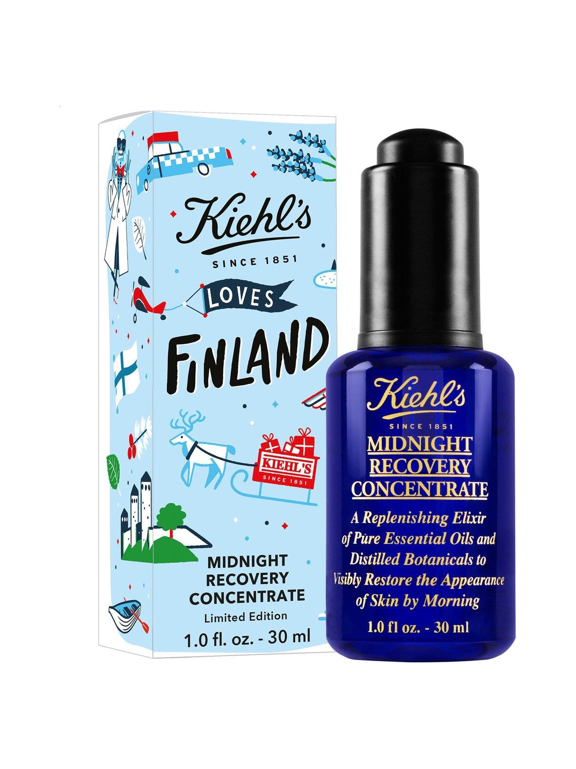 Kiehl's – Midnight Recovery Concentrate, limited edition -kirkastava eliksiiri 30 ml