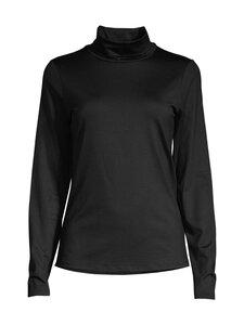 ESSENTIALS by Stockmann - Emiliana rollneck t-shirt basic -poolopaita - BLACK | Stockmann
