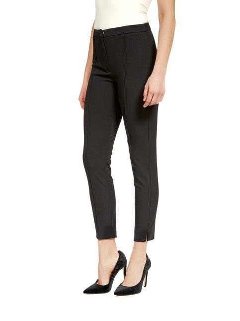 SlfIlue Mw Pintuck Slit Pant -housut