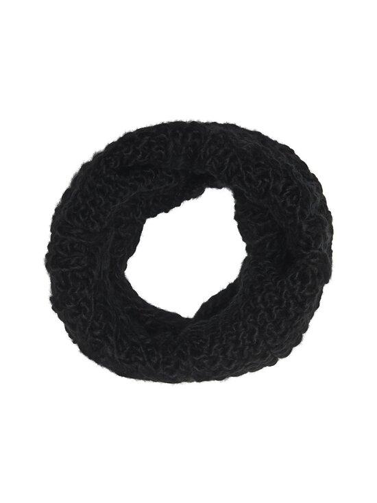KIDS ONLY - KonIsabella Knit Cable -tuubihuivi - BLACK | Stockmann - photo 1