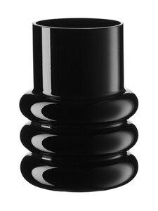 Wikholm Form - Ringo Glass Vase -maljakko 15 x 20 cm - BLACK | Stockmann