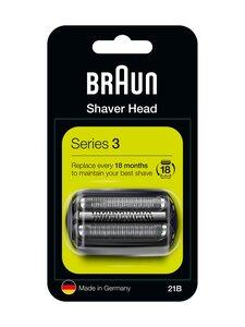 Braun - Series 3 21B -parranajokoneen teräverkko ja terät - BLACK | Stockmann
