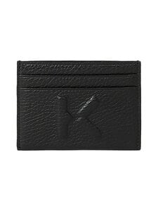 Kenzo - Imprint Grained Leather -korttikotelo - 99BLACK | Stockmann