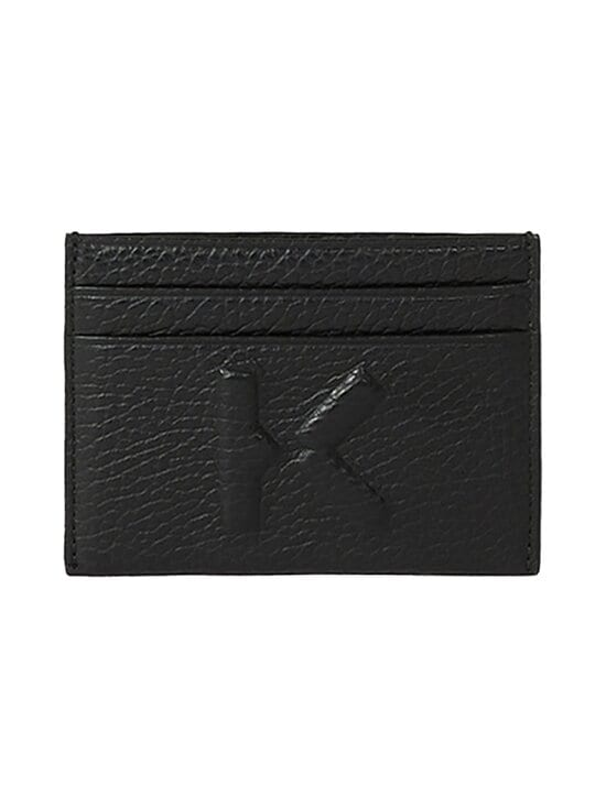 Kenzo - Imprint Grained Leather -korttikotelo - 99BLACK | Stockmann - photo 1
