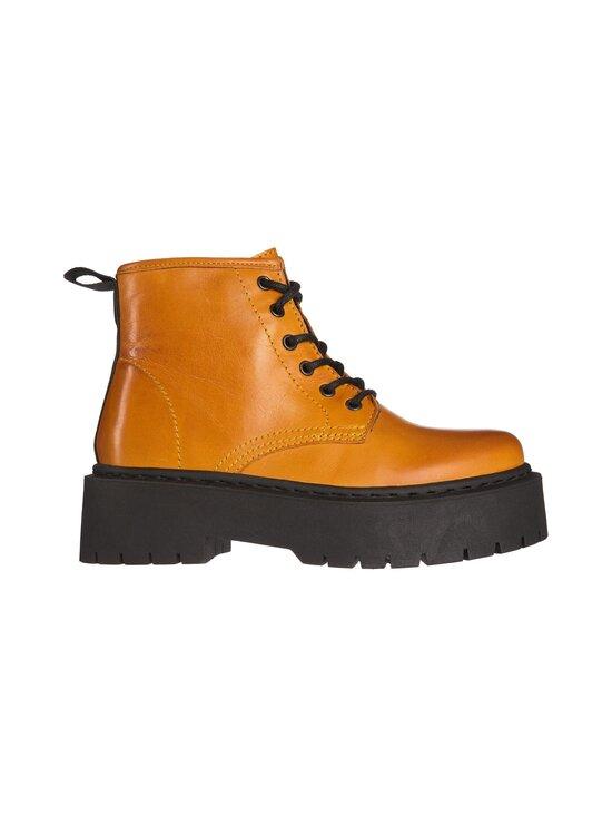 BIANCO - BiaDeb Lace-Up Short Boot -nahkanilkkurit - 720 MUSTARD | Stockmann - photo 1