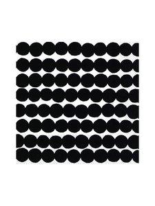 Marimekko - Räsymatto-servetti 33 x 33 cm - MUSTAVALKOINEN | Stockmann