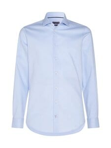 Tommy Hilfiger Tailored - Flex Collar Dobby Slim -kauluspaita - 0GZ LIGHTBLUE/WHITE | Stockmann