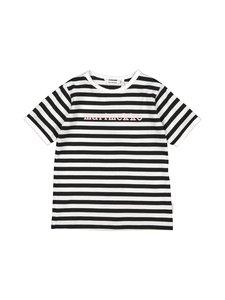 Marimekko - Leuto Tasaraita 1 -paita - 068 BLACK, WHITE | Stockmann