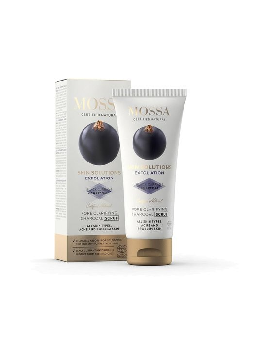 Mossa - Skin Solutions Charcoal Scrub -syväpuhdistava hiilikuorinta 60 ml - NOCOL   Stockmann - photo 1