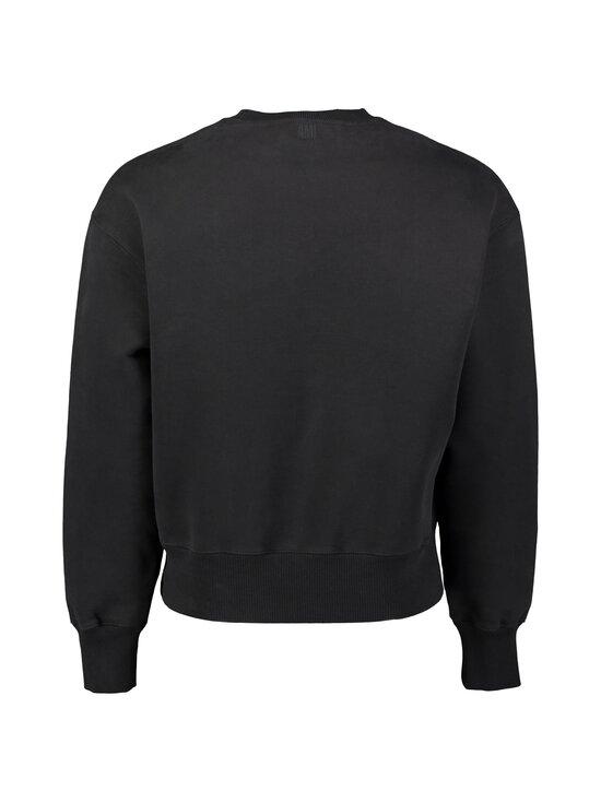 Ami - 9 Embroidered Sweatshirt -collegepaita - NOIR/001 | Stockmann - photo 2