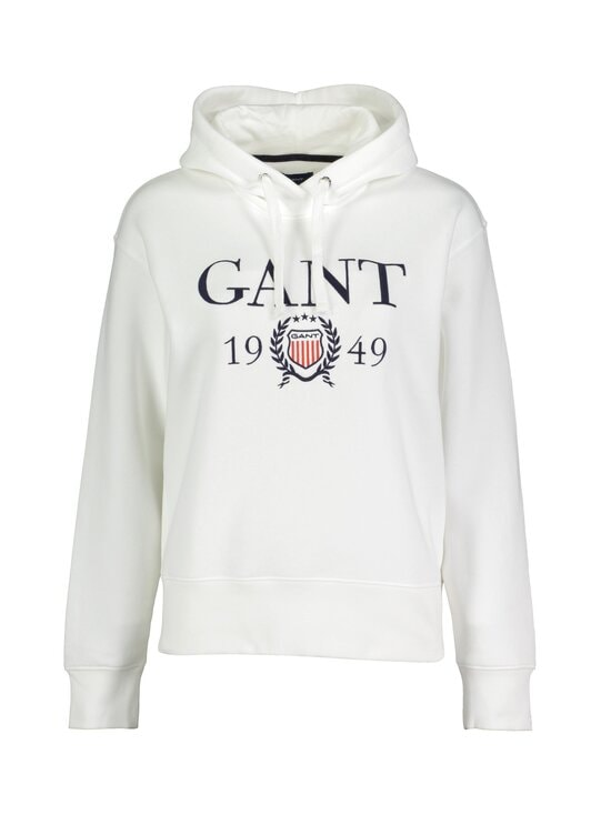 GANT - Crest 1949 Hoodie Sweater -huppari - 113 EGGSHELL | Stockmann - photo 1