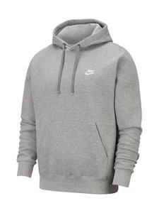 Nike - Sportswear Club Fleece -huppari - DARK GREY HEATHER/MATTE SILVER | Stockmann