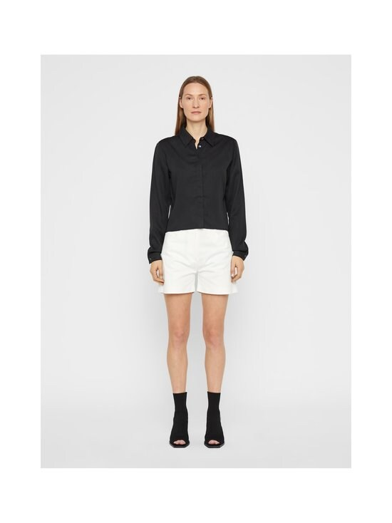 J.Lindeberg - Mallory Cropped Shirt -paitapusero - 9999 BLACK | Stockmann - photo 4