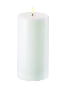 UYUNI - Pillar LED -pöytäkynttilä 10 x 20 cm - NORDIC WHITE | Stockmann