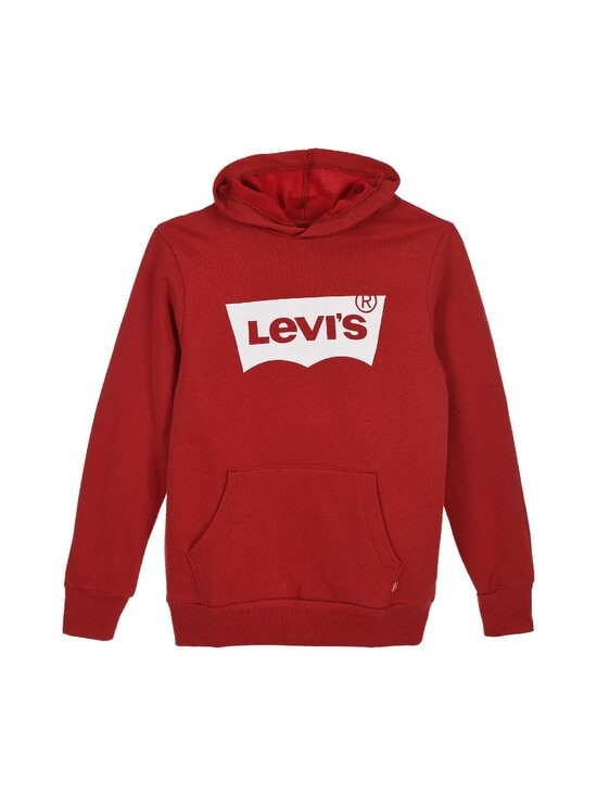 Levi's Kids - LVB Batwing Screenprint Hoodie -huppari - LEVIS RED/ WHITE | Stockmann - photo 1
