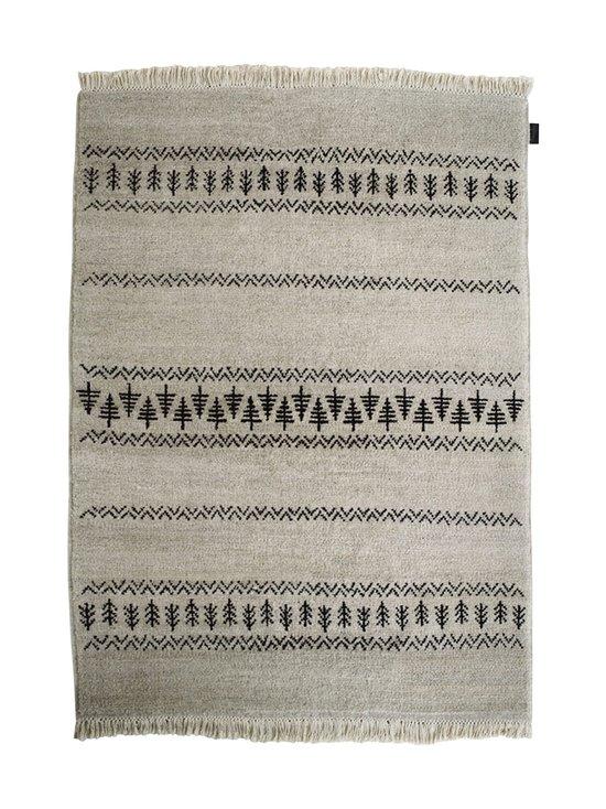 Sera Helsinki - Retki-villamatto 100 x 200 cm - BLACK/NATURAL WHITE (MUSTA/LUONNONVALKOINEN) | Stockmann - photo 1
