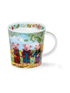 Dunoon - Lomond Fairy Tales III Three Little Pigs -muki 0,32 l - MONIVÄRINEN | Stockmann