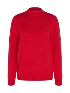 Tommy Hilfiger - Wool Cashmere Sweater -villa-kashmirneule - XIC CORNELL RED | Stockmann