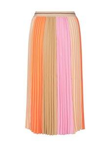 MOS MOSH - Plisse Block Skirt -hame - PEACH PARFAITH   Stockmann
