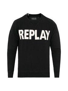 Replay & Sons - Collegepaita - 098 BLACK | Stockmann